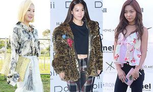 Loạt sao Hàn 'bỗng dưng mặc xấu' tại Tuần thời trang