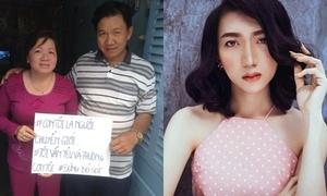 Bố mẹ Việt cầm bảng 'con tôi là người chuyển giới, tôi vẫn yêu và thương'