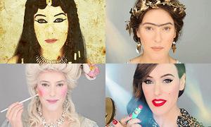 3 video hot 21/10: Khác biệt trang điểm của con gái qua từng thời kỳ