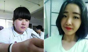 Giảm 25 kg, nữ sinh 'lột xác' thành hot girl trường