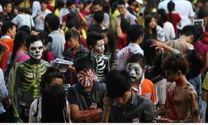 Sinh viên Báo chí tưng bừng mùa lễ hội Halloween