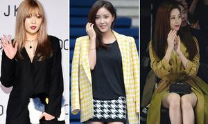 14 bộ cánh đẹp nhất của sao Hàn ở Tuần thời trang Seoul