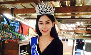 Nhan sắc thiếu nữ nhặt rác đăng quang Hoa hậu Thái Lan