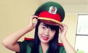 Nữ thủ khoa xinh xắn của Học viện Cảnh sát Nhân dân