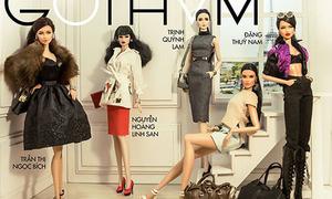 5 cô gái đẹp nhất cuộc thi Hoa hậu búp bê Việt Nam