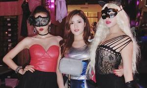 Tài hóa trang Halloween siêu ấn tượng của xì ta, hot girl Việt