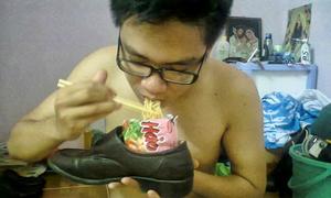 Ngàn lẻ cách ăn mỳ tôm bá đạo