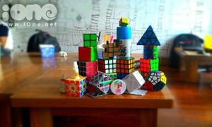 CLB Rubik - nét riêng độc đáo của teen Nguyễn Huệ