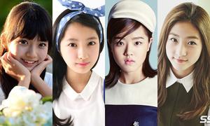 4 công chúa nhỏ sinh năm 2000 trên màn ảnh Hàn
