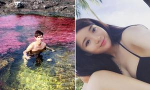 Sao Việt 10/11: Hồ Quang Hiếu tắm sông thần tiên, Tú Linh khoe dáng sexy