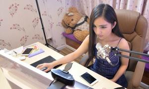Trào lưu khoe giọng trên trang video trực tuyến của girl xinh Trung Quốc