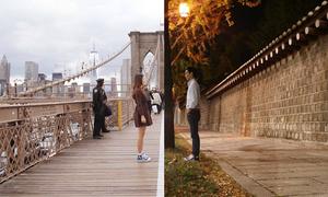 Bộ ảnh yêu xa 11.000 km mà như sát bên nhau của cặp đôi Hàn