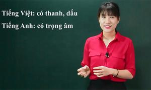 Sự khác biệt về phát âm giữa tiếng Việt và tiếng Anh