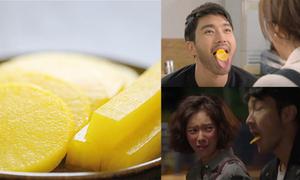 Cách chế biến củ cải muối khiến Shin Hyuk mê mẩn