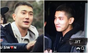 Si Won, Chang Min rạng ngời khi lên đường nhập ngũ