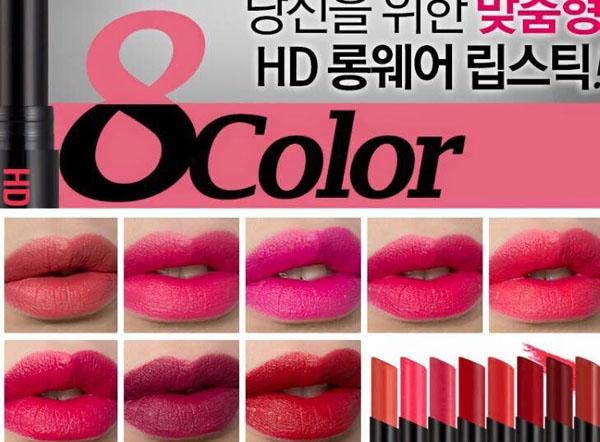 HD Longwear Lipstick là dòng son siêu lì, lâu trôi