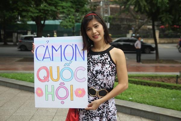 Ánh Phong, một người chuyển giới nữ.