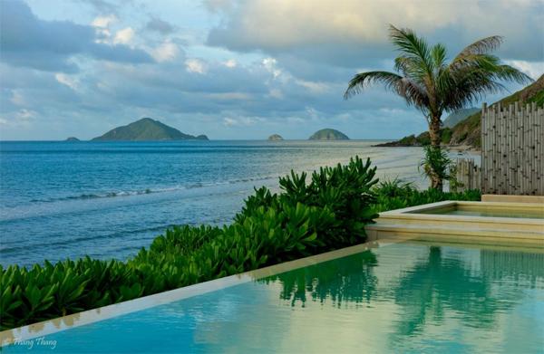 Khu nghỉ dưỡng cao cấp nhất ở Côn Đảo. Ảnh: Thang Thang.
