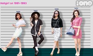 So sánh chiều cao của các hot girl Việt