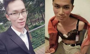 Nam sinh Trung Quốc giả gái để bán nội y nữ, băng vệ sinh