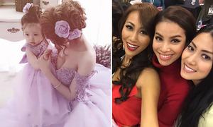 Sao Việt 3/12: Mẹ con Elly Trần như công chúa, Phạm Hương đọ sắc thí sinh Hoa hậu