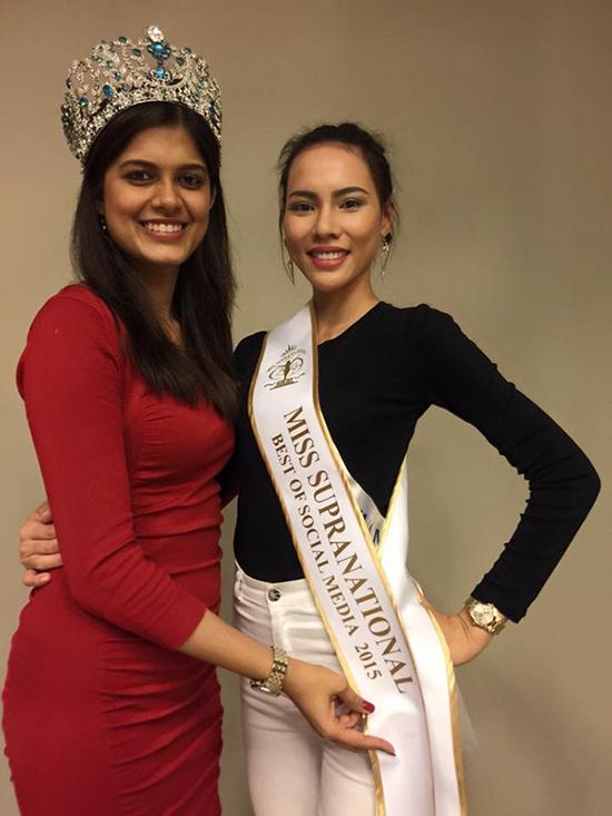 Đêm chung kết Hoa hậu siêu quốc gia vừa diễn ra lúc 2h sáng (giờ Việt Nam). Trước đêm chung kết, đại diện Việt Nam là Lệ Quyên được trao giải thưởngHoa hậu truyền thông xã hội (được bình chọn qua mạng xã hội)