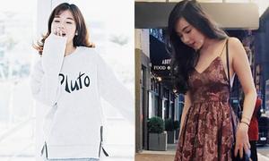 Sao style 6/12: Yến Chibi trong veo, Mie diện váy hai dây trời rét buốt