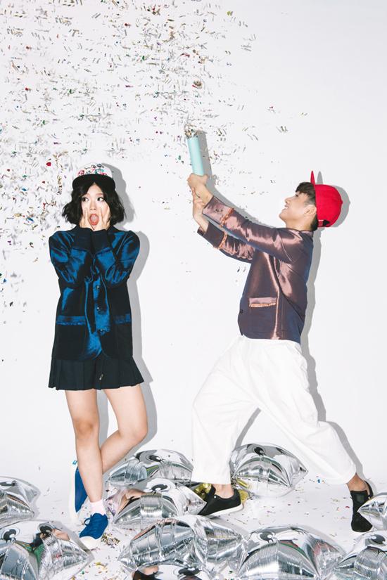 Với ngoại hình long lanh chẳng kém xì ta Kpop, cặp đôi hot girl - hot boy nhạc cover này