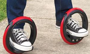 Đôi giày trượt patin đời mới chỉ với 2 vòng tròn