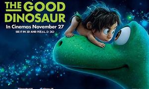 Danh sách quà tặng từ phim 'Chú khủng long tốt bụng'