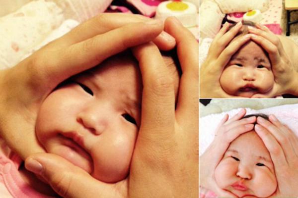 Tuy nhiên, Masahiro Ehar cũng khuyến cáo mọi người không nên lạm dụng trò   đùa này trên mặt em bé.