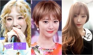 4 kiểu tóc hot nhất năm 2015 của sao nữ Hàn