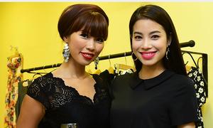 Người mẫu Hà Anh: 'Phạm Hương lễ phép, Lan Khuê có lòng tự trọng'