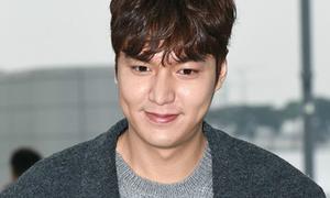 Mặt Lee Min Ho bỗng sưng phù khác thường
