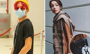 Sao style 17/12: Sơn Tùng che kín mặt, Kỳ Duyên tậu túi xách đắt đỏ