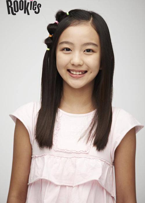 Hình ảnh ngây thơ đáng yêu của Lami khi lần đầu tiên được SM giới thiệu trong dự án SM Rookies.