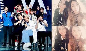Sao Hàn 20/12: Yoon Ah - Tiffany đọ kute, EXO chơi cosplay trên sân khấu