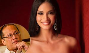 Tân Hoa hậu Hoàn vũ bị nghi là bạn gái Tổng thống