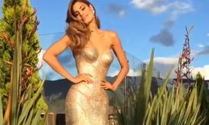 Hoa hậu Colombia khoe clip gợi cảm sau tin đồn tự tử