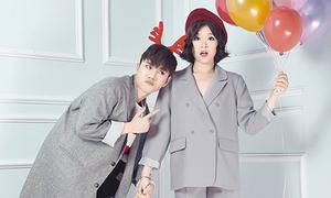 Cặp đôi 'Trouble Maker' bản Việt mix đồ Noel chất như sao Hàn