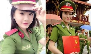 10 nữ cảnh sát xinh đẹp, tài năng của Học viện Cảnh sát