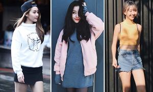 Street style khác biệt thời tiết của sao, hot girl Việt hai miền