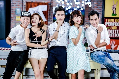 Lĩnh vực diễn viên được Quỳnh Anh Shyn dành nhiều tâm huyết trong năm. Bộ phim 5S Online