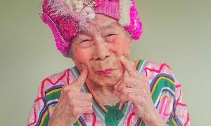 Cụ già 93 tuổi trở thành mẫu ảnh nổi tiếng trên Instagram