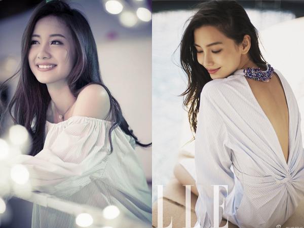 Diện mạo xinh đẹp của Jun Vũ được báo Trung Quốc nhận xét là giống người mẫu - diễn viên Angelababy.