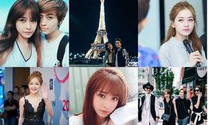 Những tấm hình được nhiều like nhất trên Instagram hot teen Việt 2015