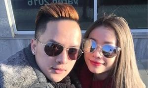 Mi-A dạo phố châu Âu cùng Cao Thái Sơn như tình nhân