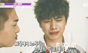 Biểu cảm 'đau khổ' không nói nên lời của sao Hàn khi ăn chanh
