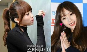 Hani, Minzy bị nghi phẫu thuật thẩm mỹ