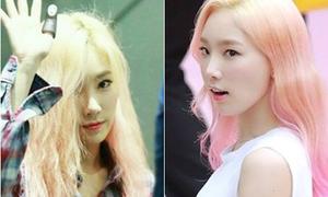 Mái tóc khác biệt trước - sau khi tạo kiểu của idol Hàn